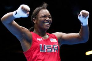 Claressa Shields, U.S. Women's Olympic Boxing Champion, 2012