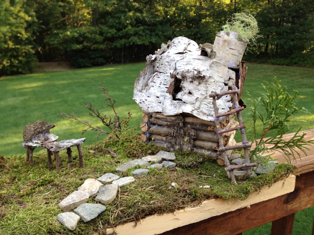 Fairy House By Leslie In Maine