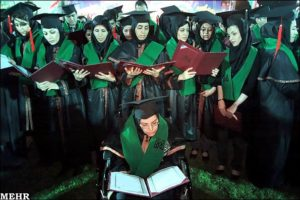 Iranian Graduates from Tehran Medical Science university/June 2012/Photo: MEHR