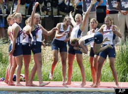 US Women's Rowing Team--2012--AP credit on photo