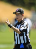 Shannon Eastin, first female NFL referee   Photo: courtesy of Seattle Seahawks for Top 10