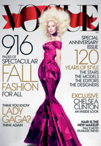 Lady Gaga on Cover of Sept. Vogue/Photos: Mert Alas, marcus Piggott