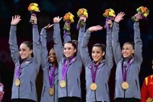 U.S. Olympic Gymnastics Team--Photo: Wally Skalij, LA Times