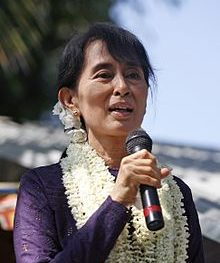 Aung San Suu Kyi, Burma parliamentarian