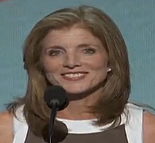 Caroline Kennedy speaking at the Democratic Convention 2012