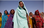 Former Women Quarry Slaves in India now free | Photo: Lisa Kristine from
