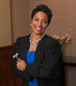 "Judge Lynn Toler, star of TV show, ""Divorce Court"""
