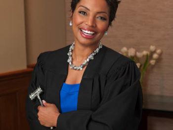"Judge Lynn Toler, star of TV show, ""Divorce Court"""