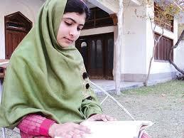 Malala Yousafzai/Photo from Farzana Ali/Aaj TV