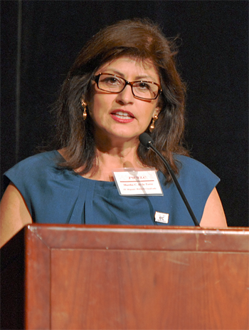 Martha de la Torre/Women's Legacy Leadership Conference/Pasadena-2012