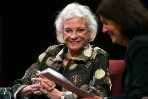 Sandra Day O'Connor in S.F./Photo: Liz Hafalia for S. F. Chronicle