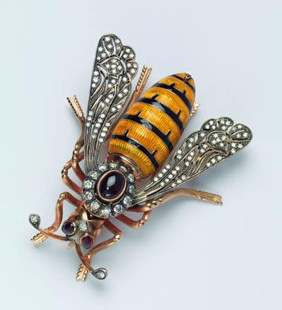Madeleine Albright's Bee Pin, Circa 1980, Designer Unknown