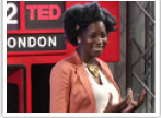 Faith Jegede speaking at TEDLondon
