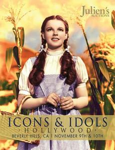 Judy Garland auction catalogue