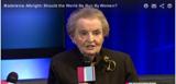 Madeleine Albright interviewed on Washington Ideas Forum (Video)