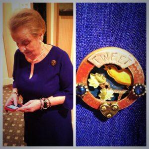 Madeleine Albright Twitter pix