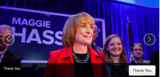Maggie Hassan after winning Governor's race in New Hampshire | Photo: maggiehassan.com