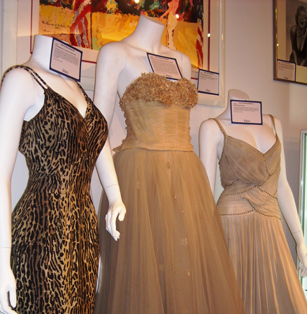 Icons & Idols dresses at Julien's Auction/11-10-12