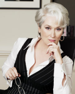"Meryl Streep in ""The Devil Wears Prada"""