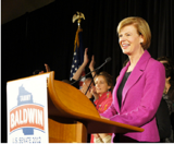 Tammy Baldwin wins Senate seat in Wisconsin | Photo: Baldwin campaign