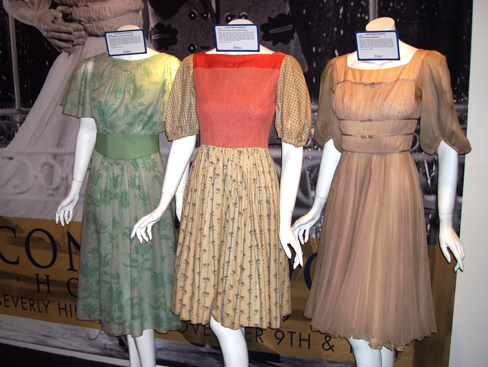 """Sound of Music"" dresses at Julien's Icons & Idols Auction 11/10/12"