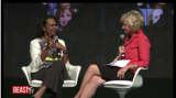 Condoleezza Rice and TIna Brown at the Women In the World Conference