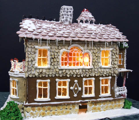 Fun Stuff Eco Friendly Gingerbread Houuse Wins Nationaltrophy