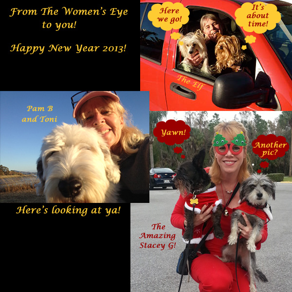 Happy New Year from The Women's Eye