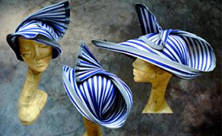 Kabuto Sun Hats by hatmaker Jasmin Zorlu