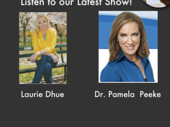 """TWE Radio Podcasts with Laurie Dhue, TV anchor, and Dr. Pamela Peeke, author of """"The Hunger Fix"""""""