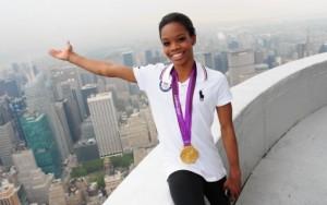 Gabby Douglas, AP Female Athlete/Brian Smith, NY Daily News