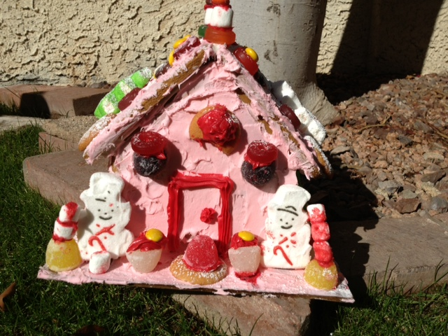TWE's Gingerbread House