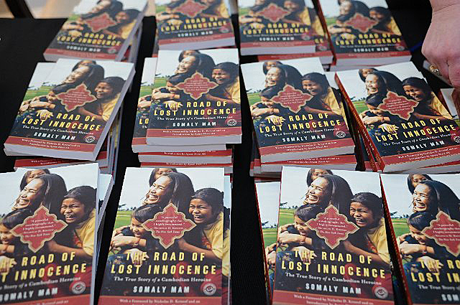 Somaly Mam's book, Road of Lost Innocence