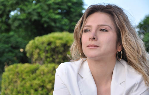 """Samar Yazbek, Syrian Activist and Author of """"A Woman In The Crossroads"""" 