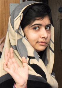 Malala Yousafsai Leaving Hospital in London