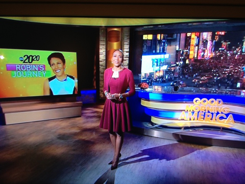 Robin Roberts Returns to ABC's Good Morning America after her bone marrow transplant