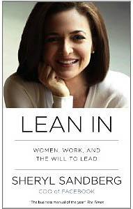 """Sheryl Sandberg's book, """"Lean In"""""""