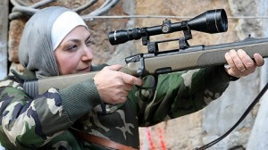 Syrian Mother Fighting on the Front Lines/abcnews.go.com