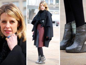 Charlene De Luca, fashionista and shoe designer