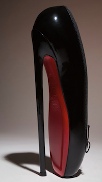 Christian Louboutin Fetish Ballerine, 2007 | Courtesy Christian Louboutin | Photograph c The Museum at Fit