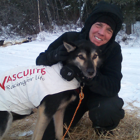 Iditarod racer Cindy Abbott and her pup