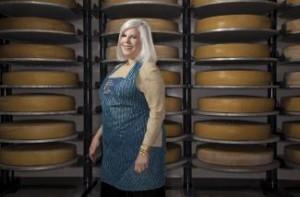 Barrie Lynn Krich--cheese expert from More Magazine