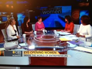 Entrepreneur panel on CBS This Morning--3/7/13--CBS Screenshot