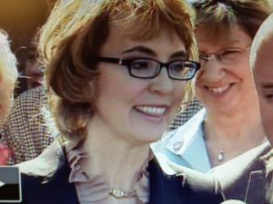 Gabby Giffords in Tucson, Mar. 6, 2013