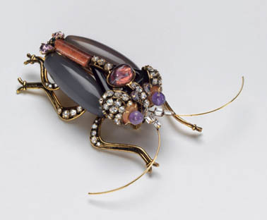 Madeleine Albright's Bug Pin | Photo: Albright Collection