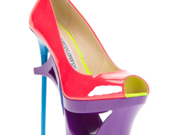 Patent Leather Shoe by Gianmarco Lorenz