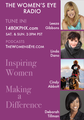 On TWE Radio: Leeza Gibbons, Linda Dano, Iditaraod Racer Cindy Abbott, and SuperNanny Deborah Tillman