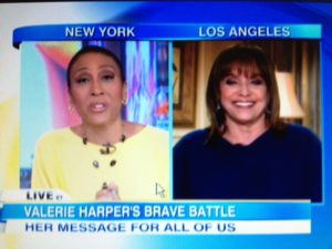 Valerie Harper on GMA with Robin Roberts/Screenshot