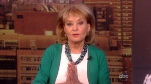 Barbara Walters Back at The View/Photo: ABC