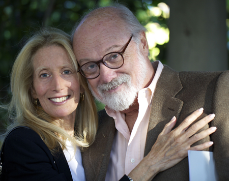 Author, Jane Heller, and her husband, Michael